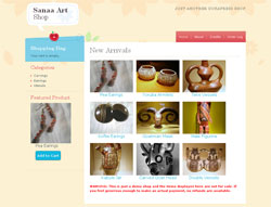 Sanaa WordPress e-Commerce Theme
