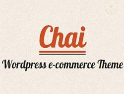 Chai WordPress e-commerce theme
